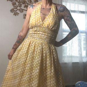 ✨HP✨NWT Robbie Bee Vintage Style Halter Dress